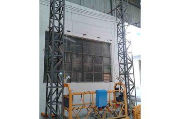 10-метровая алюминиевая канатная подвесная платформа zlp1000 однофазная 2 * 2,2 кВт