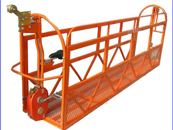 1000 кг 7,5 м x 3 секций Подвесная рабочая платформа из алюминиевого сплава ZLP1000