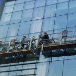 100 м - 300 м подвешенные платформы для подъема 220в для высотных строительных работ