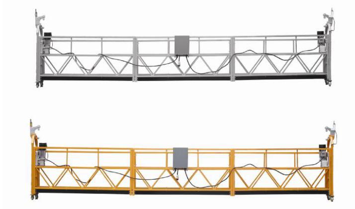 208 В / 60 Гц Трехфазные 100 м, 150 м, 200 м и т. Д. Алюминиевый сплав ZLP630 Подвесная колыбель