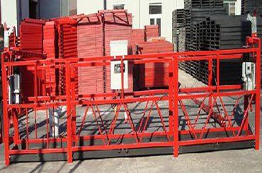 строительная очистка подвесной рабочей платформы zlp800 с номинальной нагрузкой 800 кг