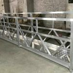 zlp800 стальная подвесная рабочая платформа 380v 3 фазы для очистки наружных стен