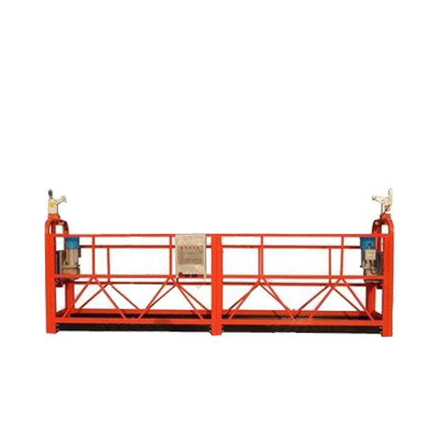 Подгонянный алюминиевый сплав подвесной рабочей платформы ZLP800 для украшения здания