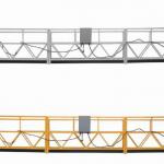 3-фазная канатная подвесная платформа с горячей оцинковкой 7.5м zlp800a для настенной росписи