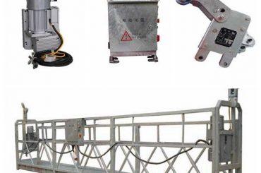 настраиваемая платформа для очистки подвижных защитных окон, zlp500 1.5kw 6.3kn шаг качания