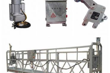 прочная подвесная рабочая платформа, l-образная платформа для окраски высоких потолков