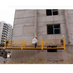 7,5 м подгоняемые платформы 800 кг для очистки зданий, штифты