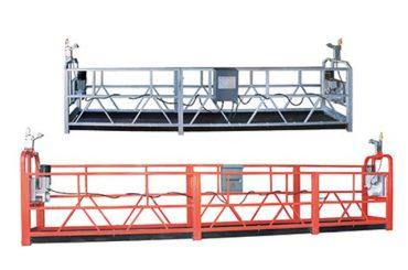 безопасное подвесное оборудование zlp630 со стальной проволокой 8,3 мм для очистки