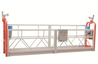 zlp630 окрашенная стальная фасадная очистка подвесная рабочая платформа