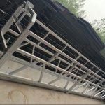 zlp630 / 800 ll форма алюминиевого сплава, стальная конструкция подвешенная рабочая платформа лифт на окнах здания