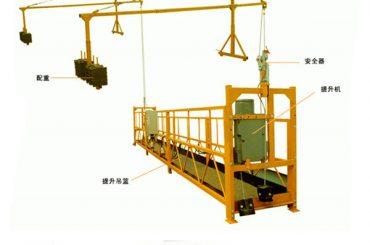 заводская продажа высококачественная электрическая таль для подвесной платформы от прямого производителя