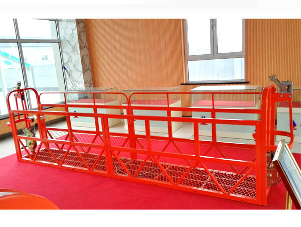 Стальные подвесные платформы для платформ 7,5 м 1,8 кВт 800 кг Обслуживание зданий