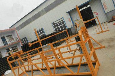 Надежная рабочая платформа ZLP630 для окраски стали для строительства (2)
