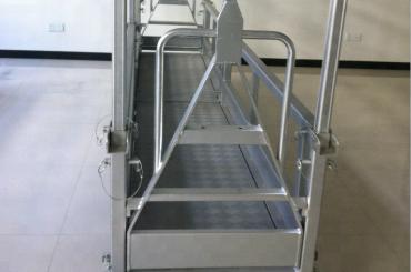 подвесная стальная рабочая платформа / подвесная стальная платформа