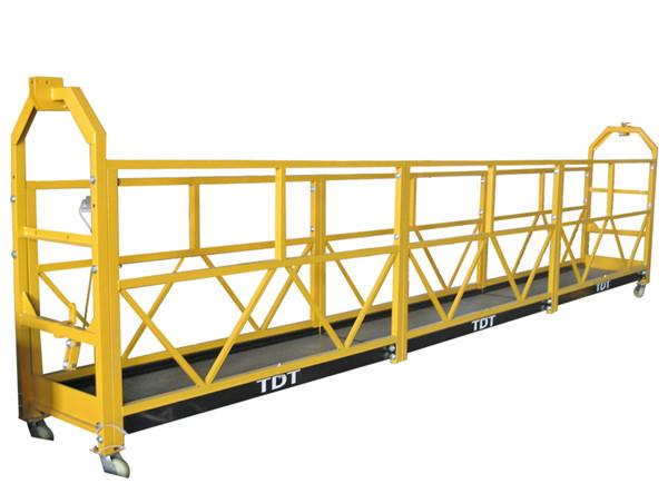 Сталь / Горячий оцинкованный / алюминиевый сплав Веревка Подвесная платформа 1.5KW 380V 50HZ