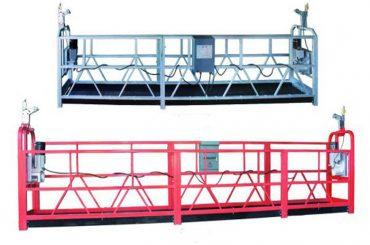 zlp 630 веревка подвесная платформа воздушная работа подметальная лестница с пластмассовым напылением