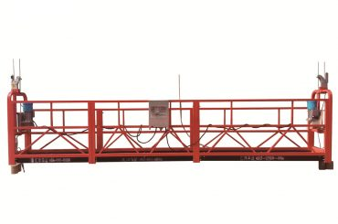 стальная / горячая оцинкованная временная подвесная платформа, подставка для обслуживания zlp500