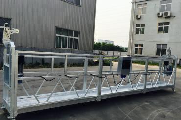 регулируемая подвесная платформа из алюминиевого сплава zlp 800 для ремонта / покраски