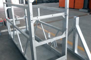 высоконадежная канатная платформа для установки лифтов платформы zlp630 zlp800 zlp1000