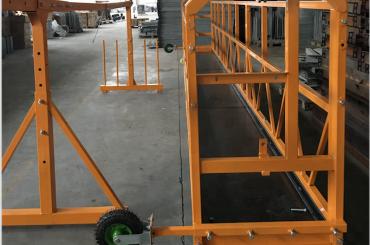очистка окон подвешенная рабочая платформа безопасность zlp 630 с подъемником ltd6.3