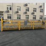 Сертифицированная zlp630 алюминиевая подвесная гондола для строительства
