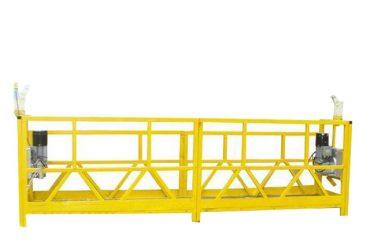 стальная / алюминиевая подвесная платформа, 630 кг оборудования для подвешенного доступа