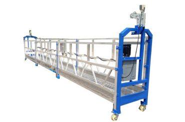 защитная канатная / кабельная стальная подвесная рабочая платформа zlp800 с подъемником ltd8.0