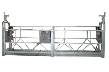 оцинкованная подвесная рабочая платформа zlp630 для высотного строительства