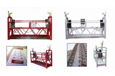 веревка висит подвесной платформы доступа, zlp630 строительство лифт гондола машины