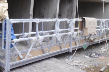 высокопрочный тросик подъемная платформа высота подъема 300 м для покраски