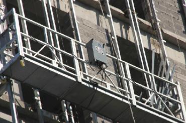 ce одобренная zlp серия подвешенная канатная платформа zlp500, zlp630, zlp800, zlp1000