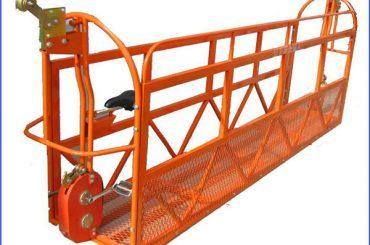 1000 кг 7.5 м x 3 секции алюминиевый сплав подвешенная рабочая платформа zlp1000