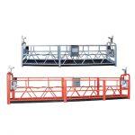 высокая подъемная уборка зданий очистка окон подвешенная рабочая платформа zlp630