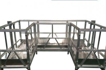 высокопрочная подвесная рабочая платформа с u лентой