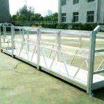 стальные / алюминиевые подвесные рабочие платформы с предохранительным замком серии Sal