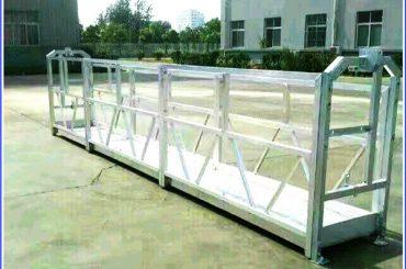 разная модель электрическая конструкция рабочая платформа колыбель подъема