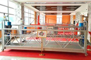 Алюминиевая подвесная платформа ZLP630 (CE ISO GOST) / высокопроизводительное оборудование для очистки окон / временная гондола / колыбель / качели