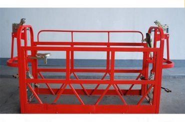 800 кг окрашенные / алюминиевые подвесные платформы для доступа к двигателю Мощность 1,8 кВт