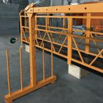 однофазная подвесная канатная платформа 800 кг 1,8 кВт, скорость подъема 8 -10 м / мин