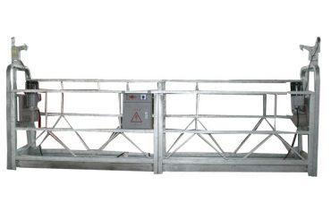 высокопрочный алюминиевый сплав zlp800 подвешенная рабочая платформа для очистки окон