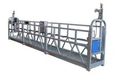 электрический подъемный канат гондола zlp500 распылительная краска подвесная платформа